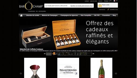 barochamp - vente de champagne et de vin sur internet